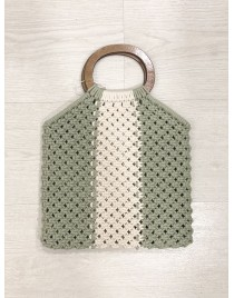 BOLSO CROCHET GREEN